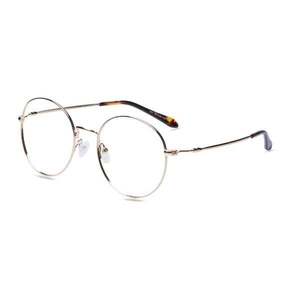6096169884 Accessories - Gold Large Frame Glasses